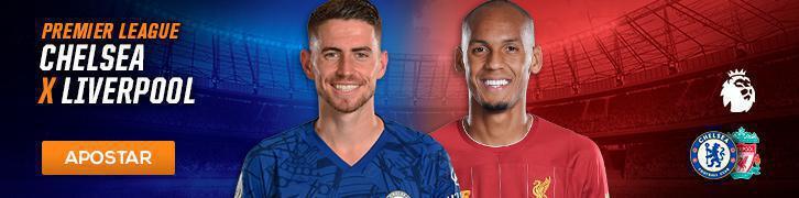 Palpite para Chelsea x Liverpool Premier League