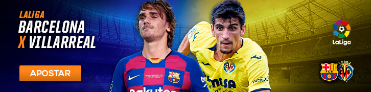 Confira os palpites para os principais jogos das grandes ligas da Europa Barcelona x Villarreal