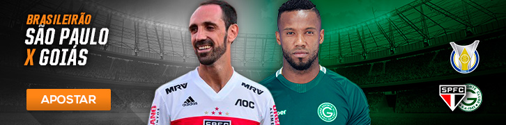 Veja as melhores apostas para as semi da Copa Sul-Americana e 21° rodada do Brasileirão São Paulo x Goiás