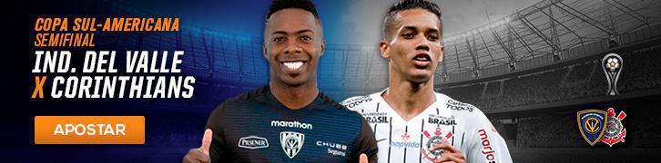 Veja as melhores apostas para as semi da Copa Sul-Americana e 21° rodada do Brasileirão Independiente del Valle x Corinthians