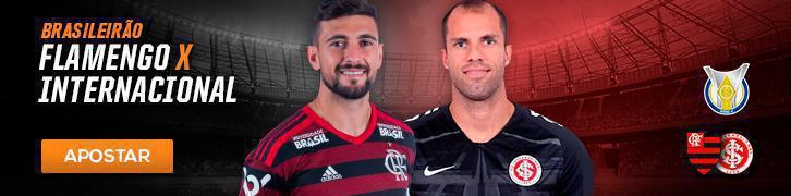 Veja as melhores apostas para as semi da Copa Sul-Americana e 21° rodada do Brasileirão Flamengo x Inter