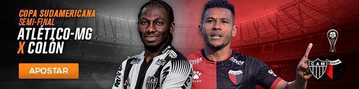 Veja as melhores apostas para as semi da Copa Sul-Americana e 21° rodada do Brasileirão Atlético-MG x Colón