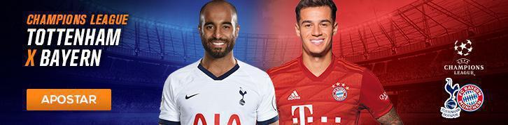 Confira os palpites para os grandes jogos da Champions League Tottenham x Bayern