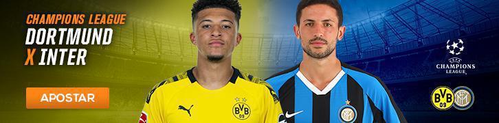 Aposte na Champions League com essas dicas Dortmund x Inter de Milão
